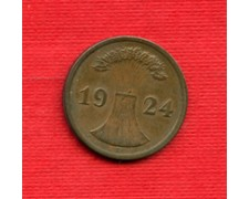1924E - LOTTO/M23247 - GERMANIA - 2 PFENNIG  REP. WEIMAR