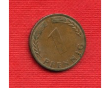 1950G - LOTTO/M23281 - GERMANIA - 1 PFENNIG ZECCA G