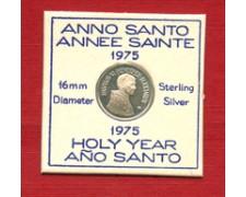 1975 - LOTTO/M23785 - ITALIA - ANNO SANTO MEDAGLIETTA IN ARGENTO