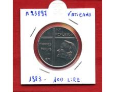 1983 - LOTTO/M23897 - VATICANO - 100 LIRE PAPA GIOVANNI PAOLO II°