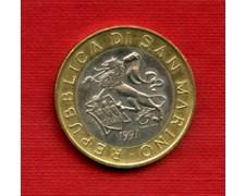 1997 - LOTTO/M23914 - SAN MARINO - 1000 LIRE LEONE ARALDICO