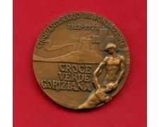 GORIZIA - 1972 - LOTTO/M24490 - MEDAGLIA CROCE VERDE GORIZIANA 50° DI FONDAZIONE