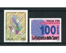 1996 - LOTTO/REP2242N - REPUBBLICA - FEDERAZIONE STAMPA - NUOVO