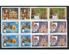 1996 - LOTTO/REP2255Q -  REPUBBLICA - TURISTICA 4 VALORI - QUARTINE NUOVI