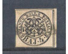 STATO PONTIFICIO - 1852 - LOTTO/5470A - 4 BAJ BRUNO GRIGIO