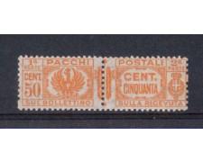 1927 - LOTTO/REGPP28N - REGNO - 50c. PACCHI POSTALI NUOVO