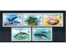1979 - LOTTO/LBF2910 - TURKS & CAICOS ISLANDS - SPECIE IN PERICOLO
