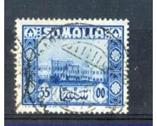 1950 - LOTTO/9842U - SOMALIA AFIS - 55c. AZZURRO  - USATO