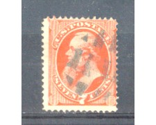 1870 - LBF/2939 -  STATI UNITI - 7c. EDW. STANTON - USATO