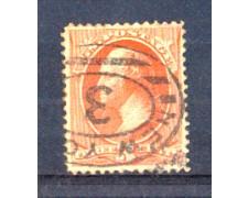 1887 - LBF/2943 -  STATI UNITI - 3 c. VERMIGLIO B.FRANKLIN
