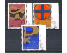 1967 - LOTTO/LIE430CPU - LIECHTENSTEIN - SIMBOLI CRISTIANI - USATI