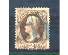 1873 - LOTTO/USA55U - STATI UNITI - 2c. BRUNO JACKSON - USATO