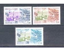 1981 - LOTTO/FRAS67CPN - FRANCIA - SERVIZIO CONSIGLIO D'EUROPA  3v. - NUOVI