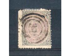 1870 - LOTTO/DAN17U - DANIMARCA - 3 s. GRIGIO LILLA - USATO