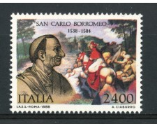 1988 - REPUBBLICA - SAN CARLO BORROMEO - NUOVO - LOTTO/30274