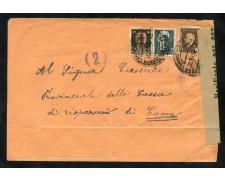 1944 - REPUBBLICA SOCIALE - BUSTA CON AFFRANCATURA DI EMERGENZA  PER COMO - LOTTO/30299