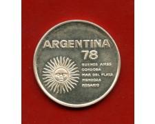1978 - ARGENTINA - 1000 PESOS ARGENTO MONDIALI DI CALCIO - LOTTO/M31072