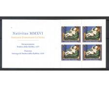 2016 - VATICANO - NATALE -  LIBRETTO NUOVO - LOTTO/30708