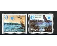 2001- JUGOSLAVIA - PROTEZIONE NATURA  2v. - NUOVI - LOTTO/35551