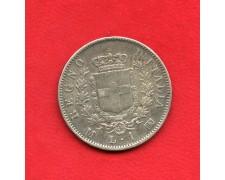 1867 - REGNO - 1 LIRA ARGENTO VITTORIO EMANUELE II° - LOTTO/M34627