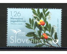 2017 - SLOVENIA - EUROMED POSTAL  - NUOVO - LOTTO/34666