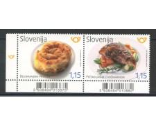 2017 - SLOVENIA - GASTRONOMIA 2v. - NUOVI - LOTTO/34675