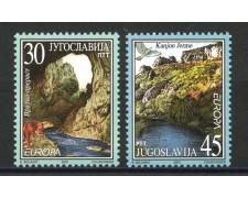 2001- JUGOSLAVIA - EUROPA L'ACQUA  2v. - NUOVI - LOTTO/35547