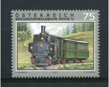 2007 - AUSTRIA - TRENI FERROVIA DI BREGENZ - NUOVO - LOTTO/33375