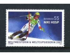 2007 - AUSTRIA - SCI  NIKI HOSP - NUOVO - LOTTO/33379