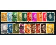 1928 - GERMANIA REICH - EFFIGI 19v. - USATI