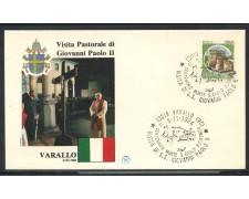 1984 - ITALIA - VARALLO (VC) - VISITA DI S.S. GIOVANNI PAOLO II° - LOTTO/31166