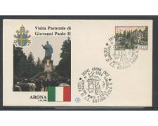 1984 - ITALIA - ARONA (NO) - VISITA DI S.S. GIOVANNI PAOLO II° - LOTTO/31169