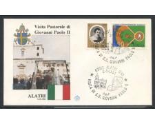 1984 - ITALIA - ALATRI (FR) - VISITA DI S.S. GIOVANNI PAOLO II° - LOTTO/31172