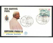1982 - ITALIA - ALBANO LAZIALE (RM) - VISITA DI S.S. GIOVANNI PAOLO II° - LOTTO/31175