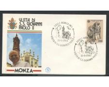 1983 - ITALIA - MONZA  (MI) - VISITA DI S.S. GIOVANNI PAOLO II° - LOTTO/31182