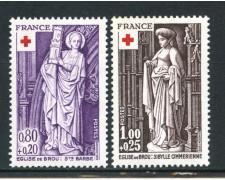 1976 - FRANCIA - PRO CROCE ROSSA 2v. - NUOVI - LOTTO/17402