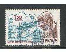 1979 - LOTTO/22636U - FRANCIA - VICTOR SEGALEN - USATO