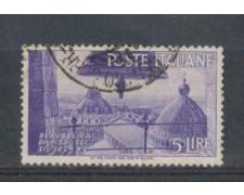 1946 - LOTTO/6028U - REPUBBLICA - 5 LIRE DUOMO DI PISA