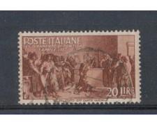 1946 - LOTTO/6031U - REPUBBLICA - 20 LIRE GIURAMENTO PONTIDA
