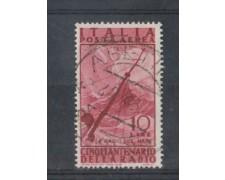 1947 - LOTTO/6035U - REPUBBLICA - POSTA AEREA  10 L. RADIO