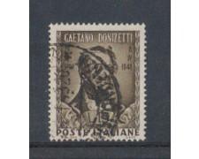 1948 - LOTTO/6067UV - REPUBBLICA - DONIZETTI FILIGRANA NS USATO