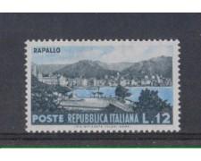 1953 - LOTTO/6222 - REPUBBLICA - 12 L. TURISTICA RAPALLO