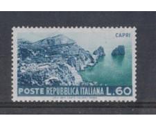 1953 - LOTTO/6226 - REPUBBLICA - 60 L. TURISTICA CAPRI