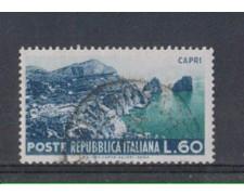 1953 - LOTTO/6226U - REPUBBLICA - 60 L. TURISTICA CAPRI USATO