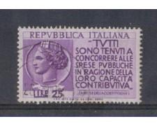 1954 - LOTTO/6233U - REPUBBLICA - PROPAGANDA DENUNCIA REDDITI US