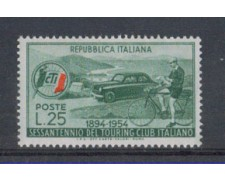 1954 - LOTTO/6240 - REPUBBLICA - TOURING CLUB