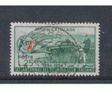 1954 - LOTTO/6240U - REPUBBLICA - 60 L. TOURING CLUB USATO