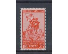 1954 - LOTTO/6244 - REPUBBLICA - 25 L. PINOCCHIO - COLLODI