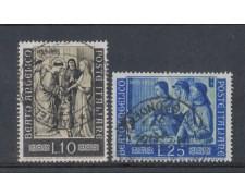 1955  - LOTTO/6293U - REPUBBLICA - BEATO ANGELICO 2v. USATI
