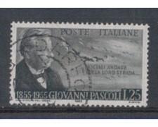 1955 - LOTTO/6294U - REPUBBLICA - 25 L. G.PASCOLI USATO